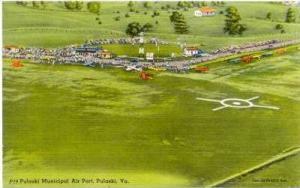Pulaski Municipal Air Port, Pulaski, Virginia, 30-40s