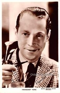 Franchot Tone Movie Star Actor Actress Film Star Postcard, Old Vintage Antiqu...