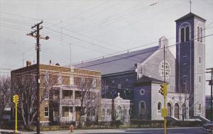 Eglise St. Zephirin, St. Zephirin Church, La Tuque, Quebec, Canada, PU-1962