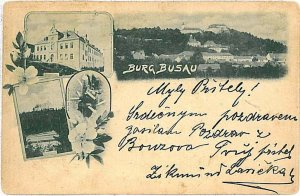 VINTAGE POSTCARD: Czech Republic - Bouzov Busau 1897