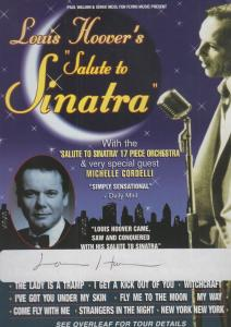 Louis Hoover Hand Signed Theatre Flyer