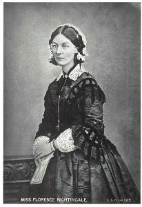 Postcard, Nurse, Miss Florence Nightingale (1820-1910) 15S