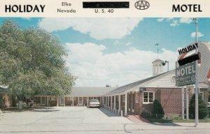 ELKO , Nevada , 1950-60s ; Holiday Motel