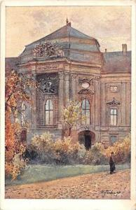 654 Austria Vienna 1908    Auerspergpalais, artist Drawn
