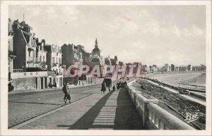 Modern Postcard Le Havre Boulevard Albert 1er