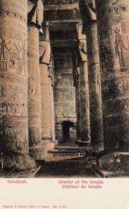 DENDERAH , Egypt , 00-10s ; Temple Interior