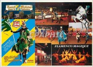 Postcard Modern Flamenco Ballet Magic Queta Barcelo
