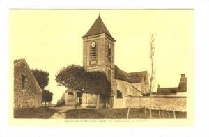 Eglise De Chailly En Biere De l'Angelus Do Millet (Maine-et-Loire), France, 1...
