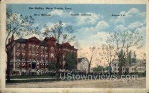 Coe College - Cedar Rapids, Iowa IA