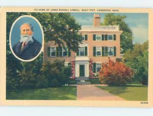 Unused Linen HISTORIC HOME Cambridge - Boston Massachusetts MA d0845