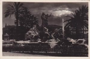 RP: Catania di Notte , Fontana Di Proserpina , Italy , 20-40s