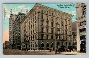 Toledo OH-Ohio, Gardner Buildings, Vintage c1913 Postcard
