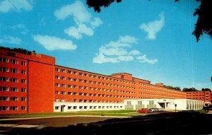 Michigan Houghton M E Wadsworth Hall Men's Residence Hall Michigan Colle...