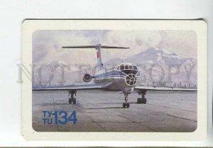 3115443 RUSSIAN Airliner TU-134 Old AEROFLOT photo calendar