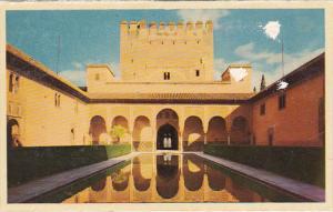 Spain Granada Alhambra Patio de los Arrayanes