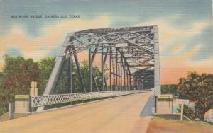 GAINSVILLE , Texas, PU-1943 ; Red River Bridge