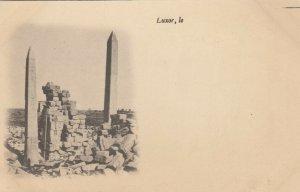 LUXOR, Egypt, 1900-10s; Karnak - Vue des Obelisques