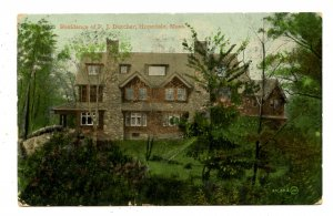 MA - Hopedale. P. J. Dutcher Residence