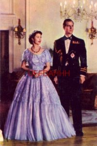 1955 THE ROYAL COUPLE, QUEEN ELIZABETH II & THE DUKE OF EDINBURGH