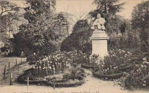 TOULON, Le Jardin de la Villa, Statue de Puget, Provence-Alpes-Cote d'Azur, F...