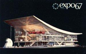 Canada - Quebec, Montreal. Expo '67. Soviet Union Pavilion