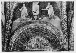 Italy Ravenna Mausoleo di Galla Placidia Il Buon Pastore