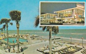 MIAMI BEACH , Florida , 1950-60s ; New WAIKIKI Hotel & Swimming Pool # 2