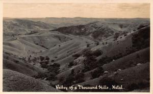 South Africa Natal Valley of a Thousand Hills Panorama Postcard