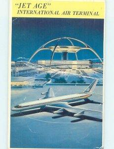 Pre-1980 AIRPORT SCENE Los Angeles California CA AF1280