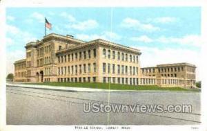 Textile School Lowell MA Unused