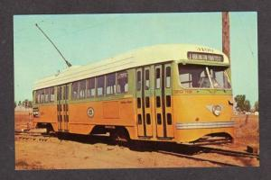 CA Trolley Car Train Streamliner LOS ANGELES CALIFORNIA