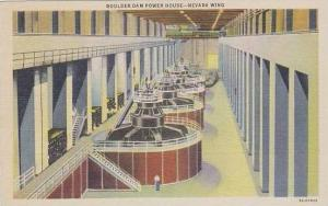 Nevada Boulder Dam Boulder Dam Power House Nevada Wing