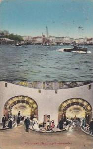 2-Views, Elbtunnel Hamburg-Steinwarder, Germany, 00-10s