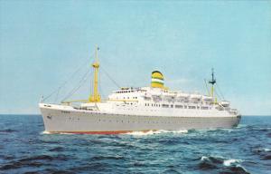 Holland-America Line Ocean Liner s.s. RYNDAM , PU-1965
