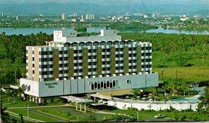 Puerto Rico San Juan Isla Verde Hotel Racquet Club 1968