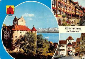 Meersburg am Bodensee, Schloss Castle Lake Boat Street Hotel Pension Auto Cars