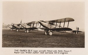 RP: The FAIREY III.F. airplanes , War 1914-18