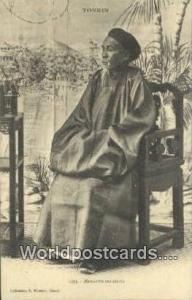 Vietnam, Viet Nam,  Nhân Vật Tonkin Mandarin Tonkinois