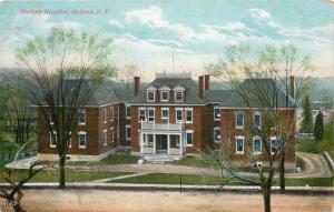 Hudson New York~Hudson Hospital~Victorian Center Bldg~2 Annexes~Dirt Drive~1909