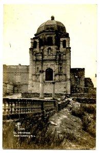 Mexico - Monterrey. El Obispado Palace     *RPPC