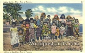Panama Republic of Panama Indians of San Blas