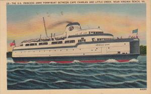 S S Princess Anne Ferryboat
