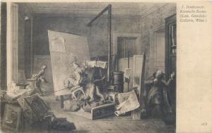 AK J. Danhauser - Komische Scene Verlag von J. Lowy Hofphotograph Wien 1903