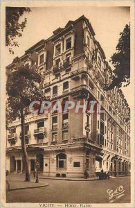 Postcard Old Vichy Hotel Radio