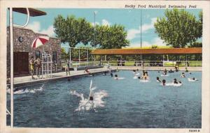 Colorado Rocky Ford Municipal Swimming Pool 1949