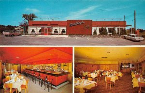 Middletown New York Bradley's Restaurant Vintage Postcard JE359230