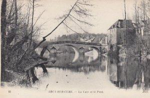 ARCY-SUR-CURE, France,1910-1920s, La Cure et le Pont