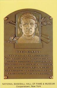 Fred Clarke Baseball Hall Of Fame & Museum Cooperstown New York