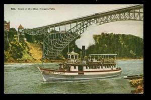 NY, Niagara Falls, New York, Steamer Maid of the Mist