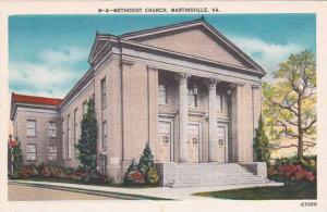 Virginia Martinsville Methodist Church